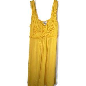 NWOT Loft Bright Yellow Sundress  Size M